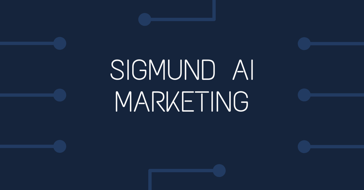 Sigmund AI Marketing